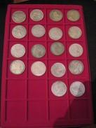 LOTTO DI 18 MONETE (RICONIO) VARI PAESI - Monnaies