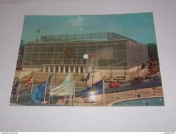 Grande Carte 20 / 15 Cm Disque Sonim Exposition 1958 Bruxelles.Pavillon De U.R.S.S. - Expositions Universelles