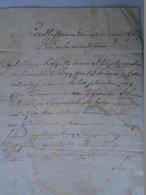 AV510.4 Old Document - Letter - Hungary 1780 - Australia