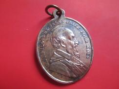 Médaille Religieuse Ancienne/Saint François De SALES Priez Pour Nous /Sainte Jeanne FREMIOT De Chantal/Mi-XIXéme   CAN35 - Religión & Esoterismo