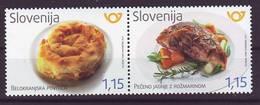 Slovenia 2017 Y Gastronomy Food MNH - Slovénie