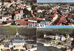 ¤¤  -  BEURLAY    -  Vue Aérienne  -  Multivues    -  ¤¤ - Sonstige Gemeinden
