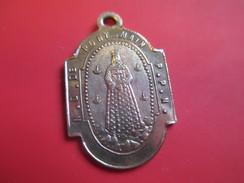 Médaille Religieuse Ancienne/Notre Dame De Pont-Main/ Eglise De Pont-Main/Prés LAVAL/ Mayenne/Fin-XIXéme   CAN36 - Religión & Esoterismo