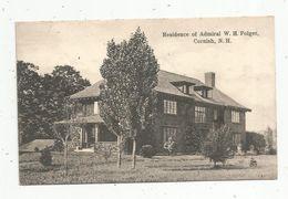 Cp, ETATS UNIS , NEW HAMPSHIRE , CORNISH , Residence Of Admiral W.H. Folger, Vierge , Ed: Rockwood's Pharmacy - Etats-Unis