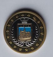 FRANCE Metz Commemorative Token Coin - Euros Of The Cities