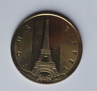 FRANCE Paris Eiffel Tour 1996-2016 Commemorative Token Coin - Euros Of The Cities