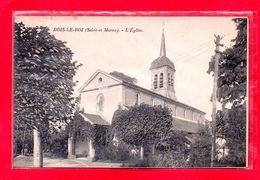 77-CPA BOIS LE ROI - L'EGLISE - (N°1633) - Bois Le Roi