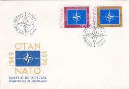 Portugal FDC 1979 NATO (DD10-13) - Militaria
