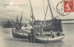 ETAPLES - Bateaux De Pêche Au Port. - Etaples