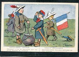 CPA - Illustration - ARTILLERIE LOURDE - Général! V'la La Marmite Qui Va Nous Donner La Victoire - Pub. L'Evènement Au V - Guerre 1914-18