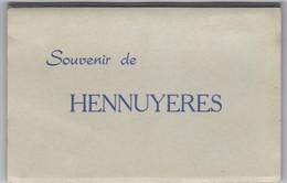 HENNUYERES-CARNET COMPLET-10 CARTES-GARE+MOULIN+PLANOIT+RONCHY+. . .. -EDIT.SCHREVE-VOYEZ LES 10 SCANS-RARE+TOP ! ! ! - Braine-le-Comte