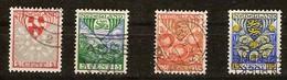 Pays-Bas Nederland 1926 Yvertn° 186-189 (°) Oblitéré Used Cote 11,00 Euro - 1891-1948 (Wilhelmine)
