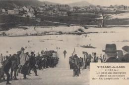CPA - Villard De Lans - Un Saut Du Champion Balmat Au Concours Du Ski Dauphinois - Villard-de-Lans