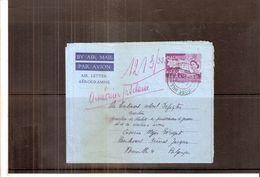 Aérogramme De Mauritius Vers La Belgique - 1961 (à Voir) - Maurice (1968-...)