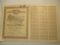 Banque De Commerce Et D'Industrie - Liège - Banque & Assurance