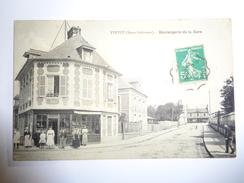 YVETOT  : Boulangerie De La Gare - Yvetot