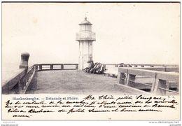 BLANKENBERGE - Estacade Et Phare - Oblitération De 1906 - Blankenberge