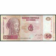 TWN - CONGO DEM. REP. 91A - 50 Francs 4.1.2000 KA-M (HdM) UNC - Congo
