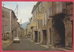 CPM - 07 - ARDECHE - MONTPEZAT SOUS BAUZON - LA GRANDE RUE ET LES HOTELS - Autres Communes