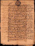 Rente Annuelle En Propriété  22 Novembre 1758  - Antoine Brian Dit Ramssat  - Cachet Gende Montauban 2 Sols  - 6 Pages - Manuscripts