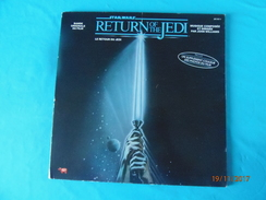 STAR WARS LE RETOUR DU JEDI 1983 RETURN OF THE JEDI PAR JOHN WILLIAMS BANDE ORIGINALE DU FILM GEORGES LUCAS FILM - Soundtracks, Film Music