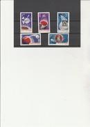 ROUMANIE - CONQUETE DE L'ESPACE - N° 2180 A 2184 NEUF XX -ANNEE 1965 - Europa