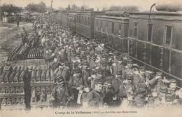 CAMP De VALBONNE  Arrivée Des Reservistes - Weltkrieg 1914-18