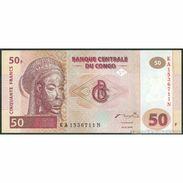 TWN - CONGO DEM. REP. 91A - 50 Francs 4.1.2000 KA-N (HdM) UNC - Congo