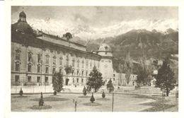 POSTAL    INNSBRUCK  - AUSTRIA - CASTLLO DE LEOPOLDBRUNNEN  FRENTE A NORDKETTE - Innsbruck
