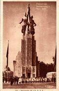 EXPOSITION INTERNATIONALE PARIS 1937 PAVILLON DE L'U.R.S.S. - Exposiciones