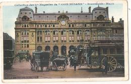 ***  75 **** PARIS  La Gare Saint Lazare Pub  Coin Musard TTB Bus Gros Plan TTB - Transport Urbain En Surface