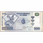 TWN - CONGO DEM. REP. 96C 500 Francs 4.1.2002 PG-L (HdM) UNC - Congo