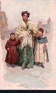 Alberto Della Valle, Italie, Il Voto, Litho (431) - Altre Illustrazioni