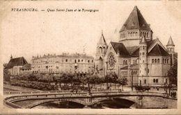 67 STRASBOURG QUAI SAINT-JEAN ET LA SYNAGOGUE - Strasbourg