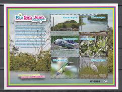 Nicaragua 2012,6V In Block,birds,vogels,vögel,oiseaux,pajaros,uccelli,aves,MNH/Postfris,(L3219) - Vogels