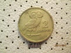 Greece 2 Drahmes 1973 # 5 - Greece