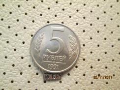 Russia 5 Rubley 1991  # 5 - Russia
