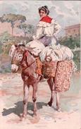 Alberto Della Valle, Italie, La Lavandala, Litho (441) - Altre Illustrazioni
