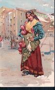 Alberto Della Valle, Italie, Venditrice Di Agli E Cipolla, Litho (442) - Altre Illustrazioni