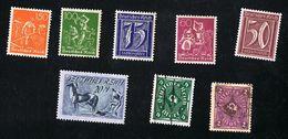 Schönes Lot Deutsches Reich 1921 Gestempelt O Und Postfrisch Xx, Siehe Scan - Gebraucht