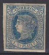 Antillas 11 * Isabel II. 1864. Papel Blanco - Cuba (1874-1898)