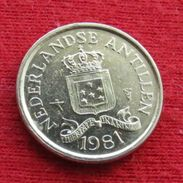 Netherlands Antilles 10 Cents 1981 KM# 10  Antillen Antilhas Antille Antillas - Netherland Antilles