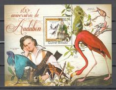 Guinea Bissau 2011.1V In Block,Audubon,birds,vogels,vögel,oiseaux,pajaros,uccelli,aves,MNH/Postfris,(L3220) - Oiseaux