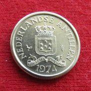 Netherlands Antilles 10 Cents 1974 KM# 10  Antillen Antilhas Antille Antillas - Netherland Antilles