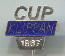 KLIPPAN CUP 1967 - Rally, Formula, Enamel, Vintage Pin, Badge, Abzeichen - Car Racing - F1