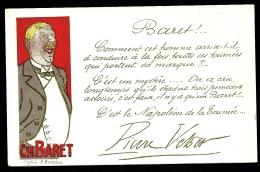 CPA PRECURSEUR FRANCE- ILLUSTRATION PUBLICITAIRE DE CHARLES BARET LE NAPOLÉON DE LA TOURNÉE- D'APRES BARRERE EN 1900- - Illustrators & Photographers