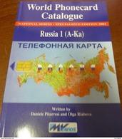 TELECARTE PHONECARD CATALOGUE RUSSIA1 RUSSIE (A-Ka) DE 2002 EN BON ÉTAT 104 PAGES CARD CARTE A PUCE - Télécartes