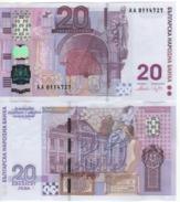 BULGARIA     20  Leva  P121a    Commemorative Issue    2005    UNC - Bulgarie