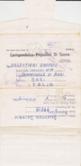 Corrispondenza Prigionieri Di Guerra - South Africa 1942 - Postage Free CENSURA - Militares