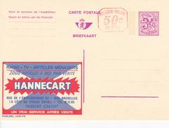 Publibel N° 2590 FN - HANNECART - FR/NL - +50c P010 - NEUF - Stamped Stationery
